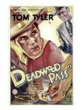 Deadwood Pass, Tom Tyler, Lafe Mckee, 1933 Posters