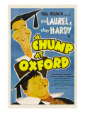 A Chump at Oxford, 1940 Photo