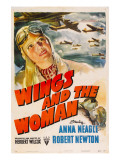 Wings and the Woman (Aka They Flew Alone), 1942 Poster