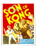 The Son of Kong, Robert Armstrong, Helen Mack on Window Card, 1933 Photo