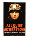 All Quiet on the Western Front, Lew Ayres, 1930 Plakater