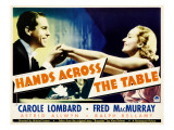 Hands across the Table, Fred Macmurray, Carole Lombard, 1935 Affiches