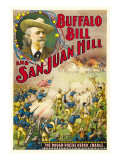 Buffalo Bill and San Juan Hill, 1902 Posters