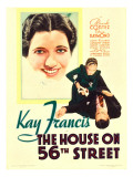 The House on 56th Street, 1933 Posters
