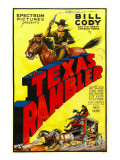The Texas Rambler, Top Half: Bill Cody, 1935 Photo