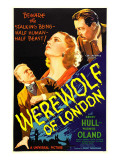 Werewolf of London, Henry Hull, Valerie Hobson, Warner Oland, 1935 Poster