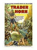 Trader Horn, Poster Art, 1931 Photo