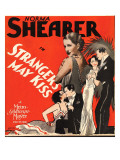 Strangers May Kiss, Norma Shearer on Window Card, 1931 Prints