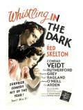Whistling in the Dark, 1941 Print