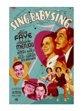 Sing, Baby, Sing, 1936 Posters