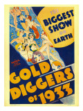 Gold Diggers of 1933, Window Card, 1933 Poster