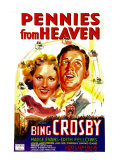 Pennies from Heaven, Madge Evans, Bing Crosby, 1936, Giclee Print