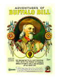 The Adventures of Buffalo Bill, Buffalo Bill, 1917 Photo
