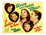Ladies in Love, Janet Gaynor, Constance Bennett, Loretta Young, Don Ameche, Simone Simon, 1936 Posters