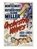 Orchestra Wives, Glen Miller, 1942 Posters