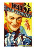 The New Frontier (Aka Frontier Horizon), John Wayne, Movie Poster Art, 1935 Prints