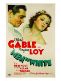 Men in White, Clark Gable, Myrna Loy, 1934 Posters