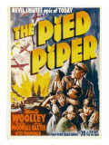 The Pied Piper, Anne Baxter, Monty Woolley, Roddy Mcdowall, 1942 Posters