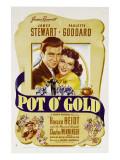 Pot O' Gold, James Stewart, Paulette Goddard, 1941 Photo