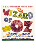 The Wizard of Oz, Jumbo Window Card, 1939 Photo