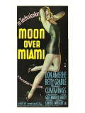 Moon over Miami, Betty Grable, 1941 Posters
