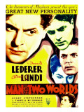 Man of Two Worlds, 1934 Pósters