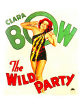 The Wild Party, Clara Bow on Window Card, 1929 Photo