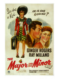 The Major and the Minor, Ray Milland, Ginger Rogers, 1942 Posters