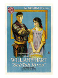 Selfish Yates, 1918 Affiches