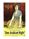 One Arabian Night, (Aka Sumurun), Pola Negri, 1920 Print
