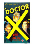 Doctor X, Lee Tracy, Lionel Atwill, Fay Wray, 1932 Photo