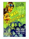 War Correspondent, 1932 Photo