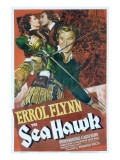 The Sea Hawk, Brenda Marshall, Errol Flynn, 1940 Posters