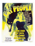 Cat People, Simone Simon on Window Card, 1942 Poster