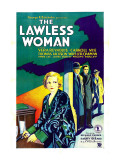 The Lawless Woman, Far Left: Vera Reynolds, 1931 Poster