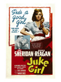 Juke Girl, Ronald Reagan, Ann Sheridan; Center: Ann Sheridan, 1942 Posters