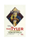 Tom and His Pals, Top to Bottom: Tom Tyler, Frankie Darro, B Eans the Dog, 1926 Posters