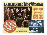 Charlie Chan at the Wax Museum, Inset Top and Bottom Second from Left: Sidney Toler, 1940 Photo