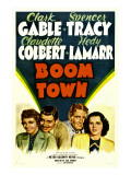 Boom Town, Claudette Colbert, Clark Gable, Spencer Tracy, Hedy Lamrr, 1940 Photo