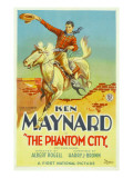 The Phantom City, Ken Maynard, 1928 Posters