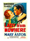Lady from Nowhere, Mary Astor, Charles Quigley, 1933 Posters