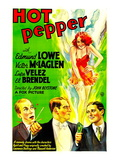 Hot Pepper, El Brendel, Victor Mclaglen, Lupe Velez, Edmund Lowe, 1933 Photo