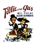 Tillie and Gus, W.C. Fields, Alison Skipworth, Baby Leroy, 1933 Pósters