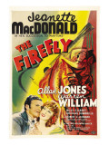 The Firefly, Allan Jones, Jeanette Macdonald, 1937 Posters