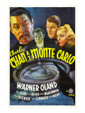 Charlie Chan at Monte Carlo, Warner Oland, Sidney Blackmer, Robert Kent, Kay Linaker, 1937 Photo