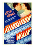 Flirtation Walk, Dick Powell, Ruby Keeler on Midget Window Card, 1934 Prints