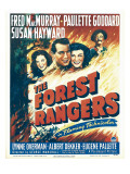 The Forest Rangers, 1942 Poster