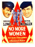 No More Women, 1934 Posters