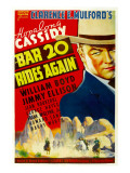 Bar 20 Rides Again, William Boyd (As Hopalong Cassidy), 1935 Posters