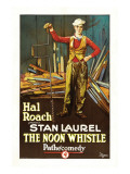 The Noon Whistle, Stan Laurel, 1923 Prints